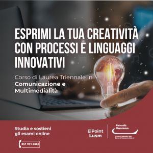 comunicazione e multimedialità Università Mercatorum