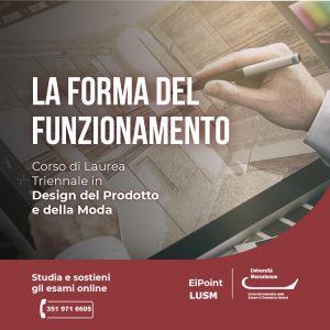 Design del prodotto e della moda università Mercatorum