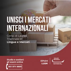Lingue e mercati Mercatorum Eipoint lusm