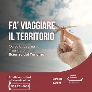 Scienze del Turismo Mercatorum Ei-Point Lusm
