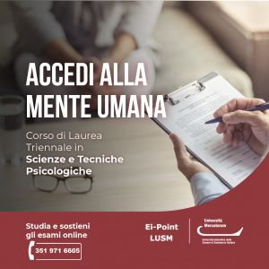 Scienze e tecniche Psicologiche Mercatorum Ei-Point Lusm