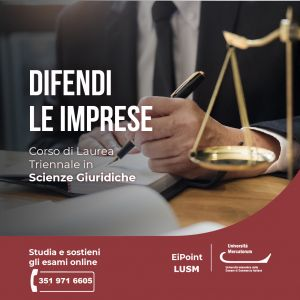 Scienze Giuridiche Mercatorum Ei-Point Lusm